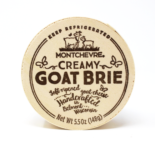 Montchevre Goat Brie, 5.5 oz - Cured and Cultivated