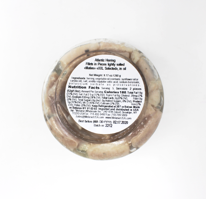 Santa Bremor Herring Maties, 9.17oz - Cured and Cultivated
