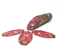 "Dry Salami - Brussel ""Braunschweyger"" by Alef - Cured and Cultivated"