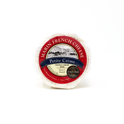 Petite Triple Cream Brie, 4 oz - Cured and Cultivated