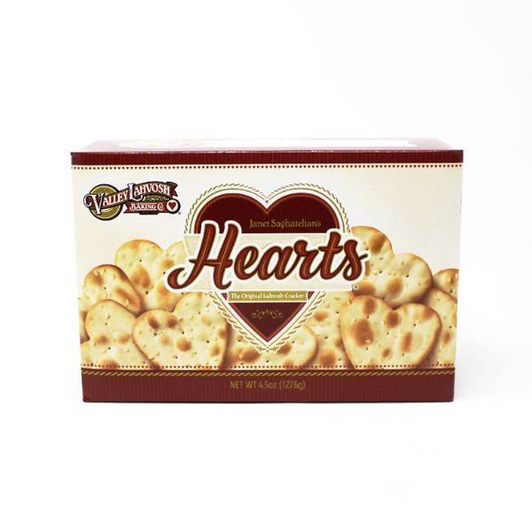 Lahvosh Cracker Hearts - Cured and Cultivated