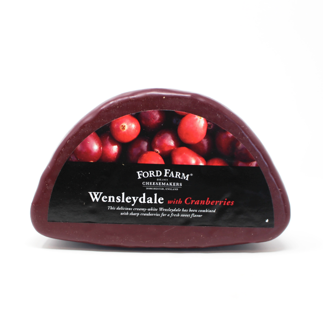 Wensleydale with Cranberries - Cured and Cultivated