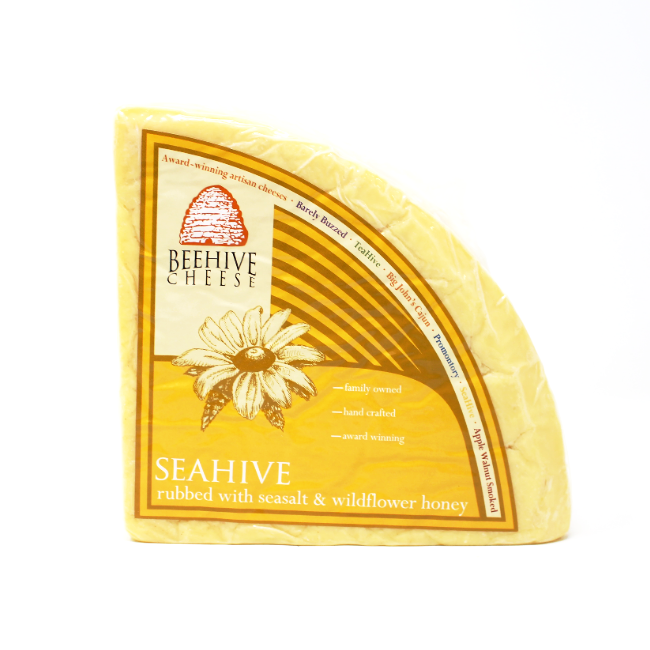 Seahive - Sea Salt & Honey Cheddar - Cured and Cultivated