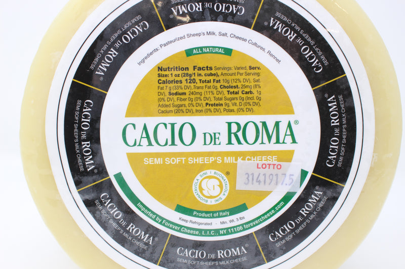 Cacio de Roma - Cured and Cultivated