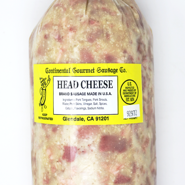 Head Cheese - Cured and Cultivated