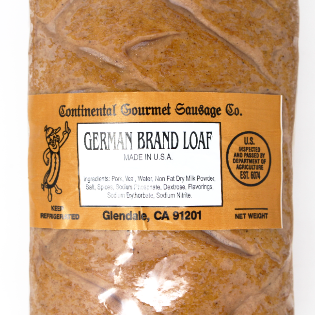 Leberkäse  - German Brand Loaf - Cured and Cultivated