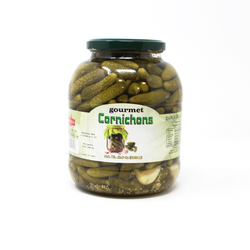 Cornichons, 46.8 oz - Cured and Cultivated