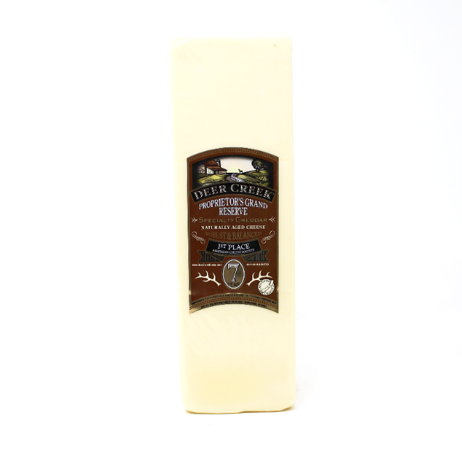 Deer Creek 7 Year Cheddar - Cured and Cultivated