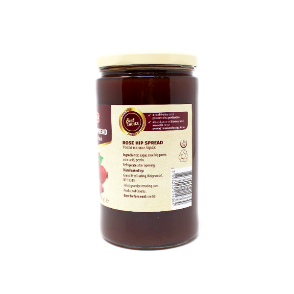 Rose Hip Spread Podravka, 30.3 oz - Cured and Cultivated