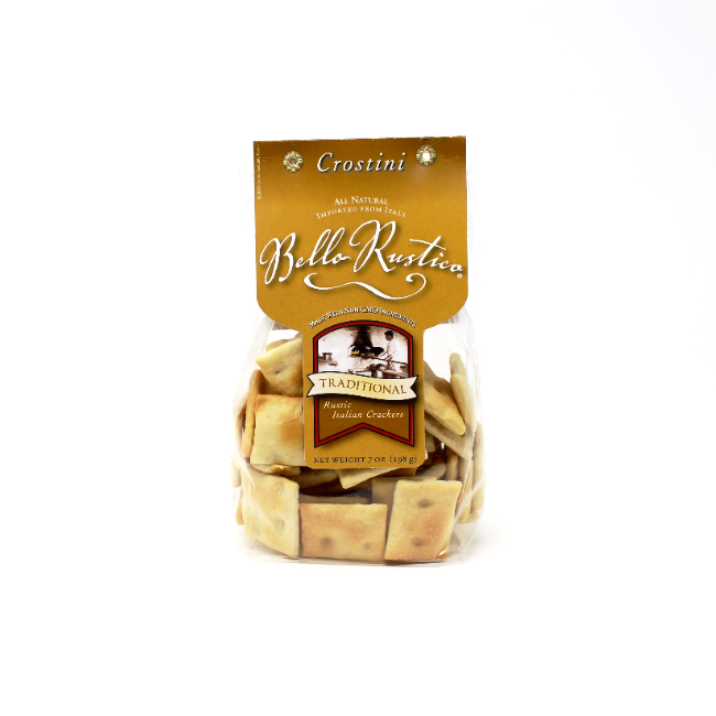Bello Rustico - Traditional Crostini 7 oz. - Cured and Cultivated