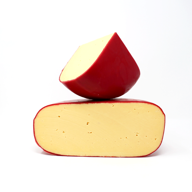 Red Wax Gouda - Cured and Cultivated