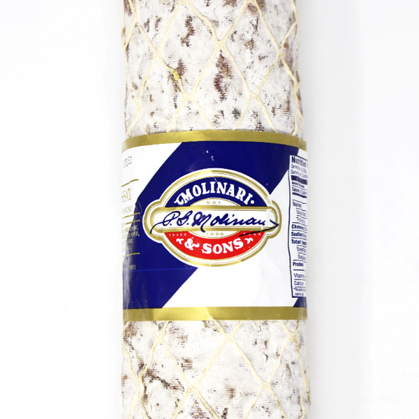 Salami Sopressata by Molinari - Cured and Cultivated