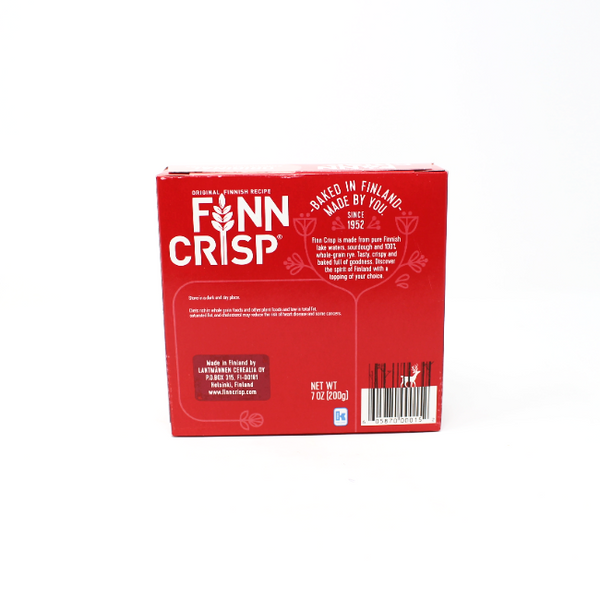 Finn Crisp Original, 7 oz - Cured and Cultivated
