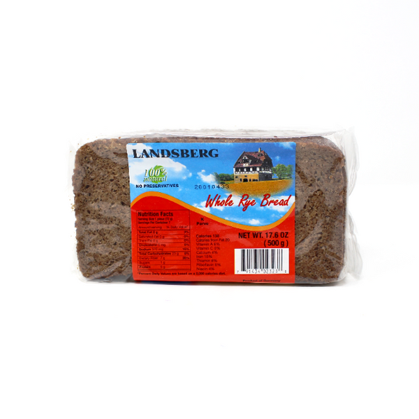 German Pumpernickel Bread, 17.6 oz - Cured and Cultivated