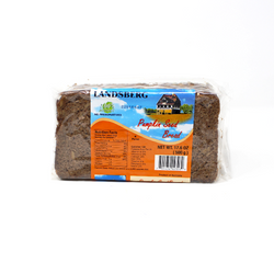 Pumpkin Seed Pumpernickel, 17.6 oz - Cured and Cultivated