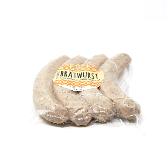 Nurnberger Bratwurst, 15 oz - Cured and Cultivated