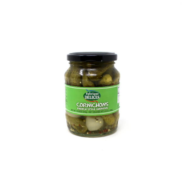 Cornichons, 5.64 oz - Cured and Cultivated