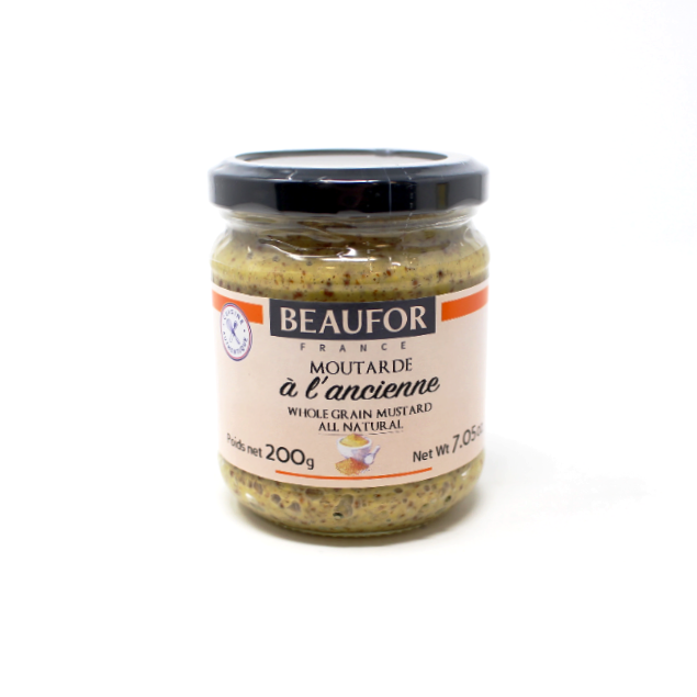 Beaufor Whole Grain Mustard - Cured and Cultivated
