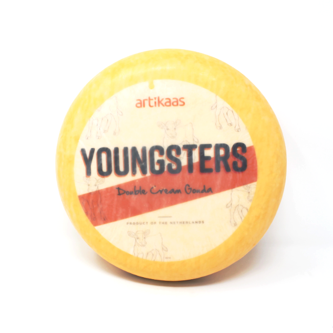 Youngsters Double Cream Gouda - Cured and Cultivated