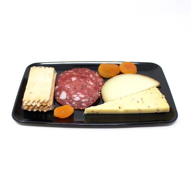 Cheese and Salami Plate - Cured and Cultivated