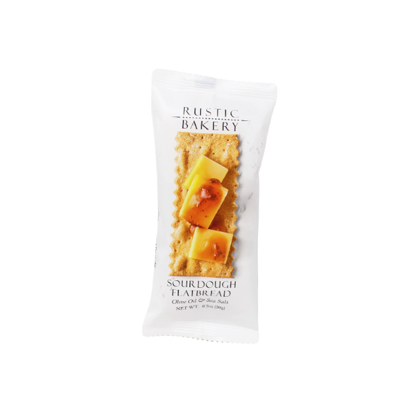 Single Serve Crackers Rustic Bakery, 0.7 oz - Cured and Cultivated