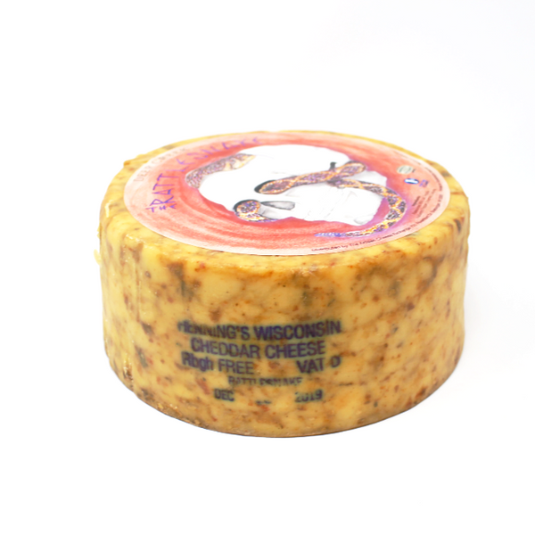 Rattlesnake Deer Creek Cheddar - Cured and Cultivated