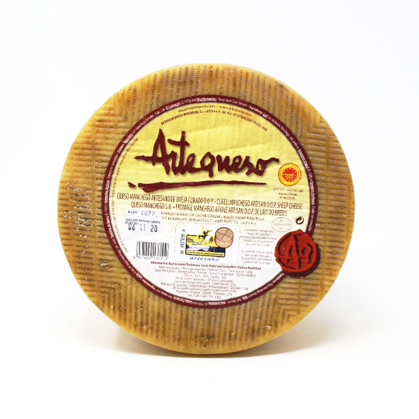 Manchego Artequeso 10 Month - Cured and Cultivated