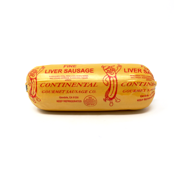 Fine Liverwurst Continental Sausage - Cured and Cultivated