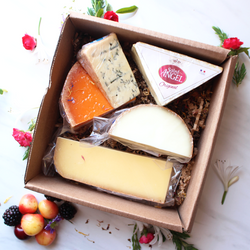 French Cheese Sampler - Cured and Cultivated