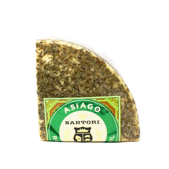 Sartori Asiago Rosemary & Olive Oil - Cured and Cultivated