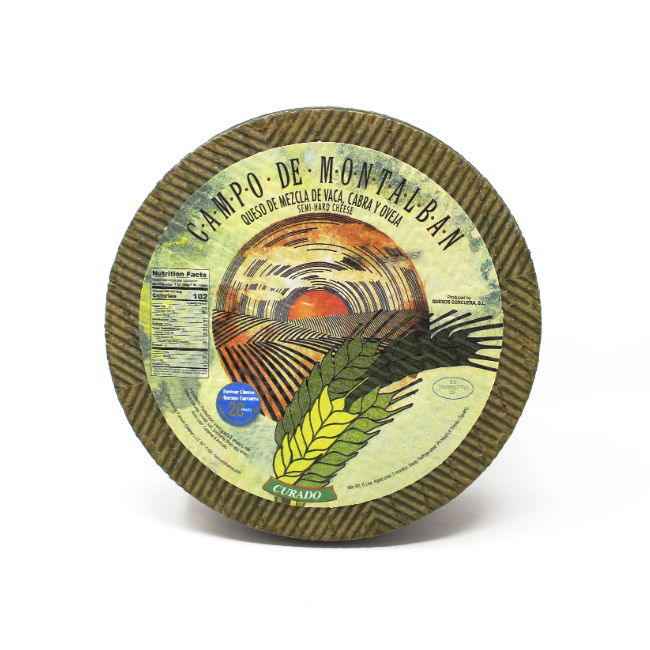 Campo de Montalbán cheese - Cured and Cultivated
