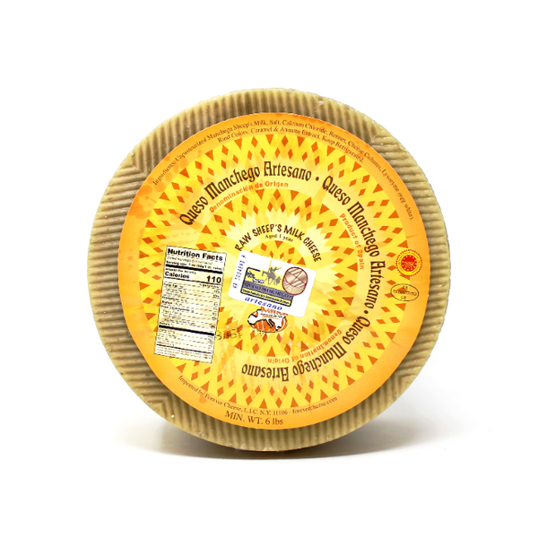 Manchego Cheese by Mitica Aged 12 month - Cured and Cultivated
