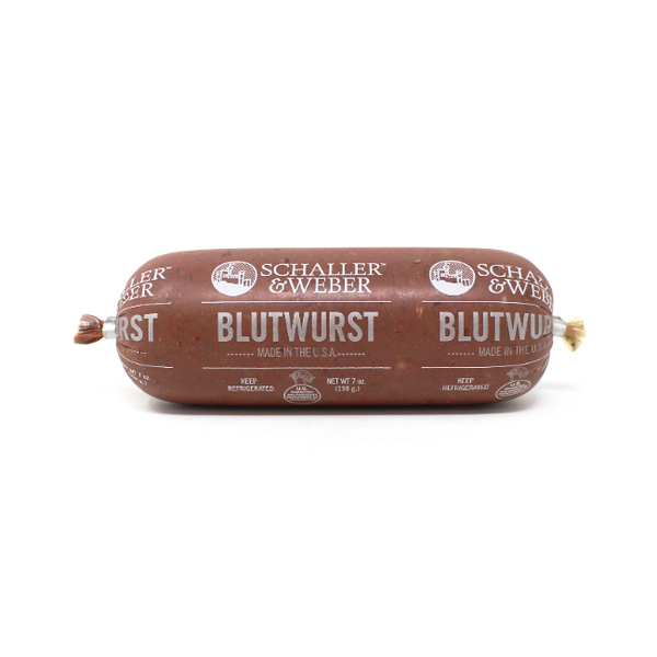 German Blutwurst Schaller & Weber, 7 oz - Cured and Cultivated