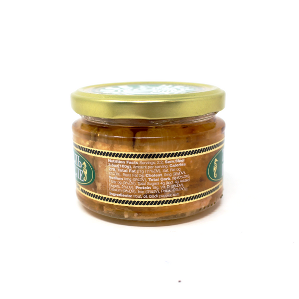House of Fish Trout In Oil, 8.1oz - Cured and Cultivated
