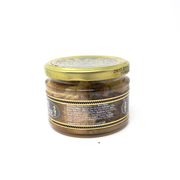House of Fish Carp In Oil, 8.1oz - Cured and Cultivated