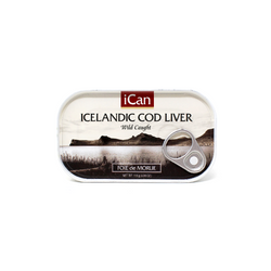 Icelandic Cod Liver, 4.06 oz. - Cured and Cultivated