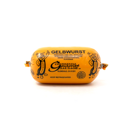 German Gelbwurst Continental Sausage - Cured and Cultivated