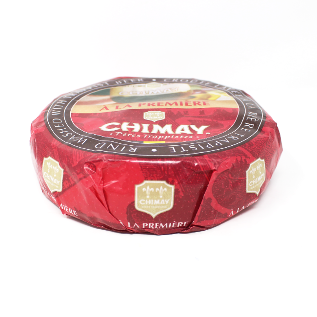 Chimay beer washed cheese from Belgium - Cured and Cultivated
