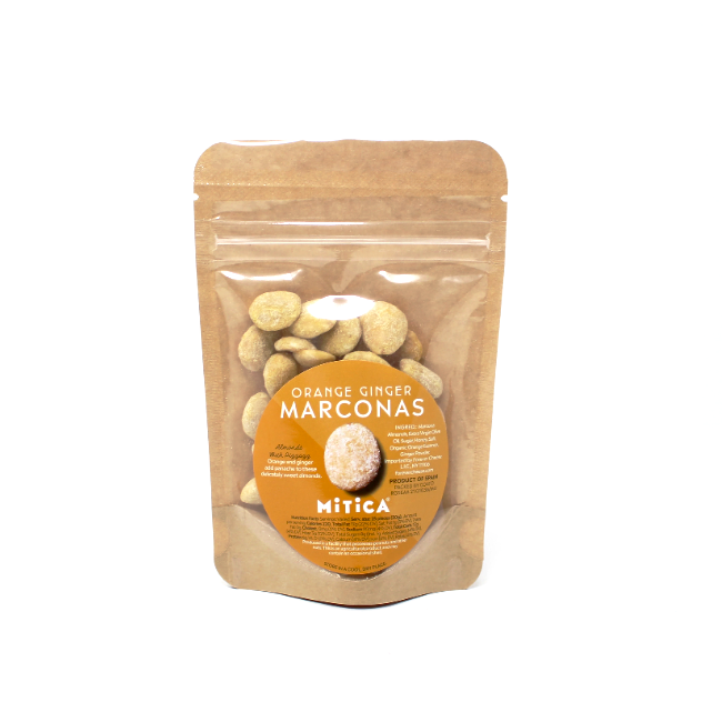 Mitica Marcona Almonds Ginger and Orange - Cured and Cultivated