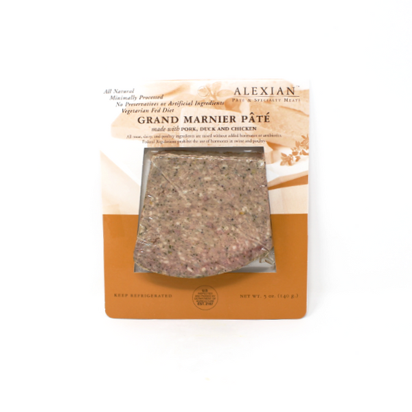 Alexian Grand Marnier Pate, 5 oz. - Cured and Cultivated
