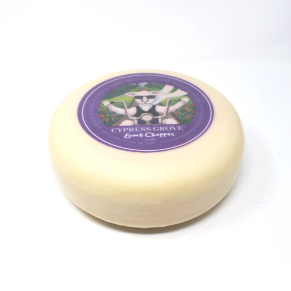 Cypress Grove Lamb Chopper Cheese - Cured and Cultivated