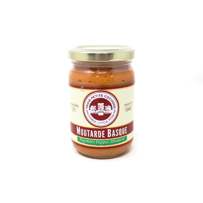 Moutarde Basque - Espelette Pepper Mustard, 7 oz - Cured and Cultivated