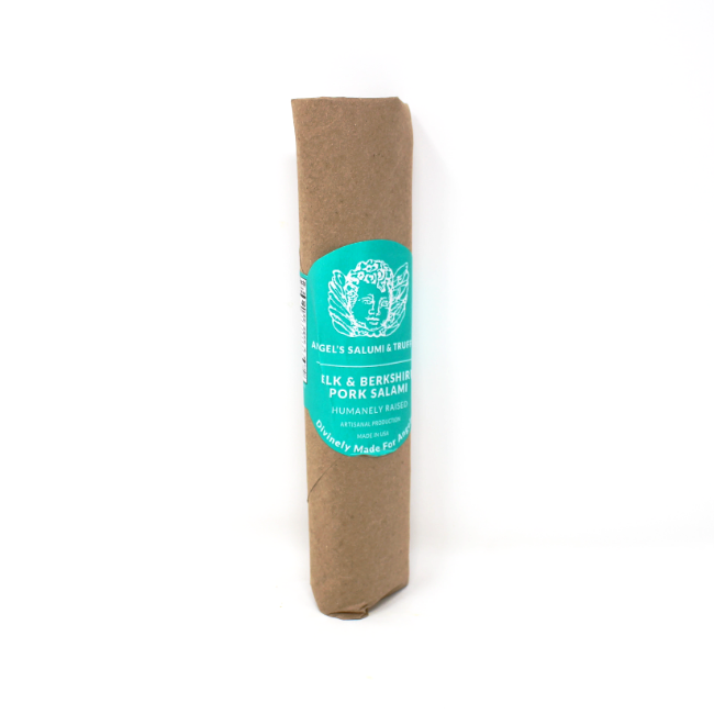 Angel's Elk and Berkshire Pork Salami, 5.5 oz - Cured and Cultivated