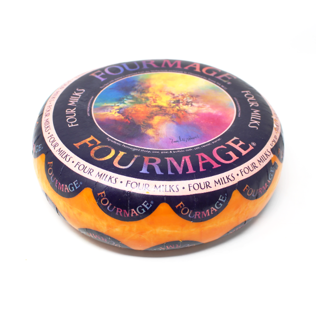Fourmage four milk cheese - Cured and Cultivated