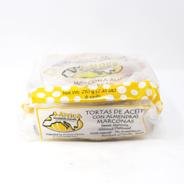 Tortas De Aceite - Sweet Marcona Flatbread, 7.4 oz - Cured and Cultivated