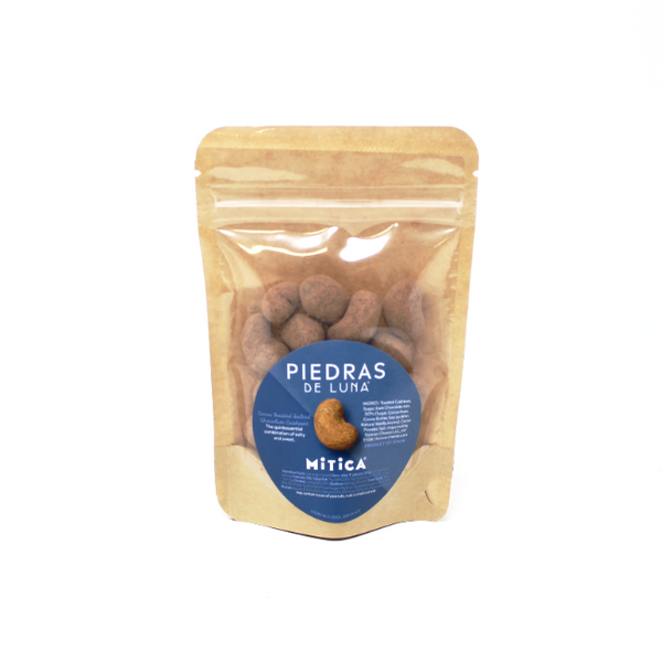 Mitica Piedras de Luna Chocolate covered cashew - Cured and Cultivated
