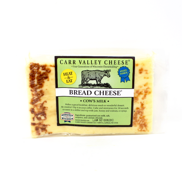 Carr Valley Bread Cheese, 10 oz - Cured and Cultivated