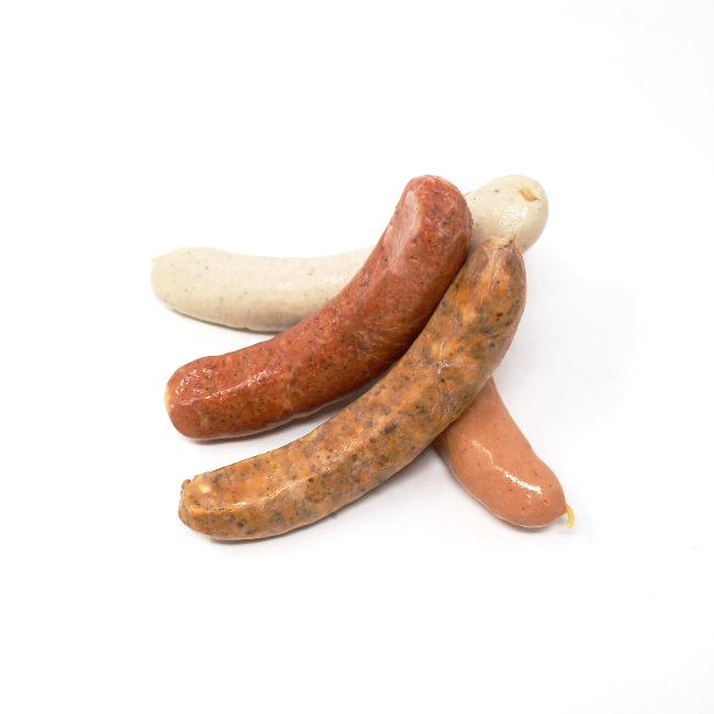 German Sausage Sampler Continental Gourmet - Cured and Cultivated