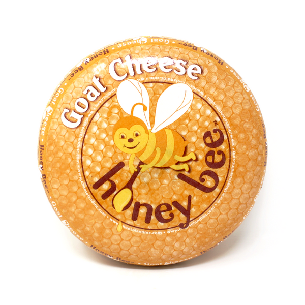 Honey Bee Goat Gouda Cheese  - Cured and Cultivated