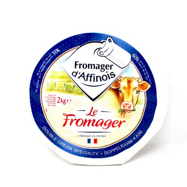 Fromager d'Affinois Double Cream soft cheese France - Cured and Cultivated